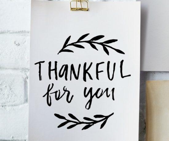 2 free Thanksgiving printables // northernfeeling.com