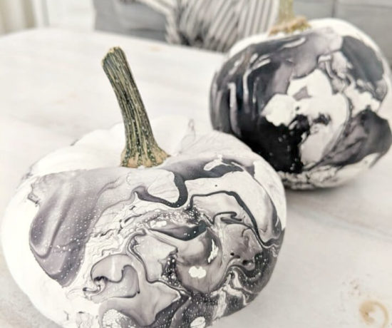 black & white marbled pumpkins northernfeeling.com