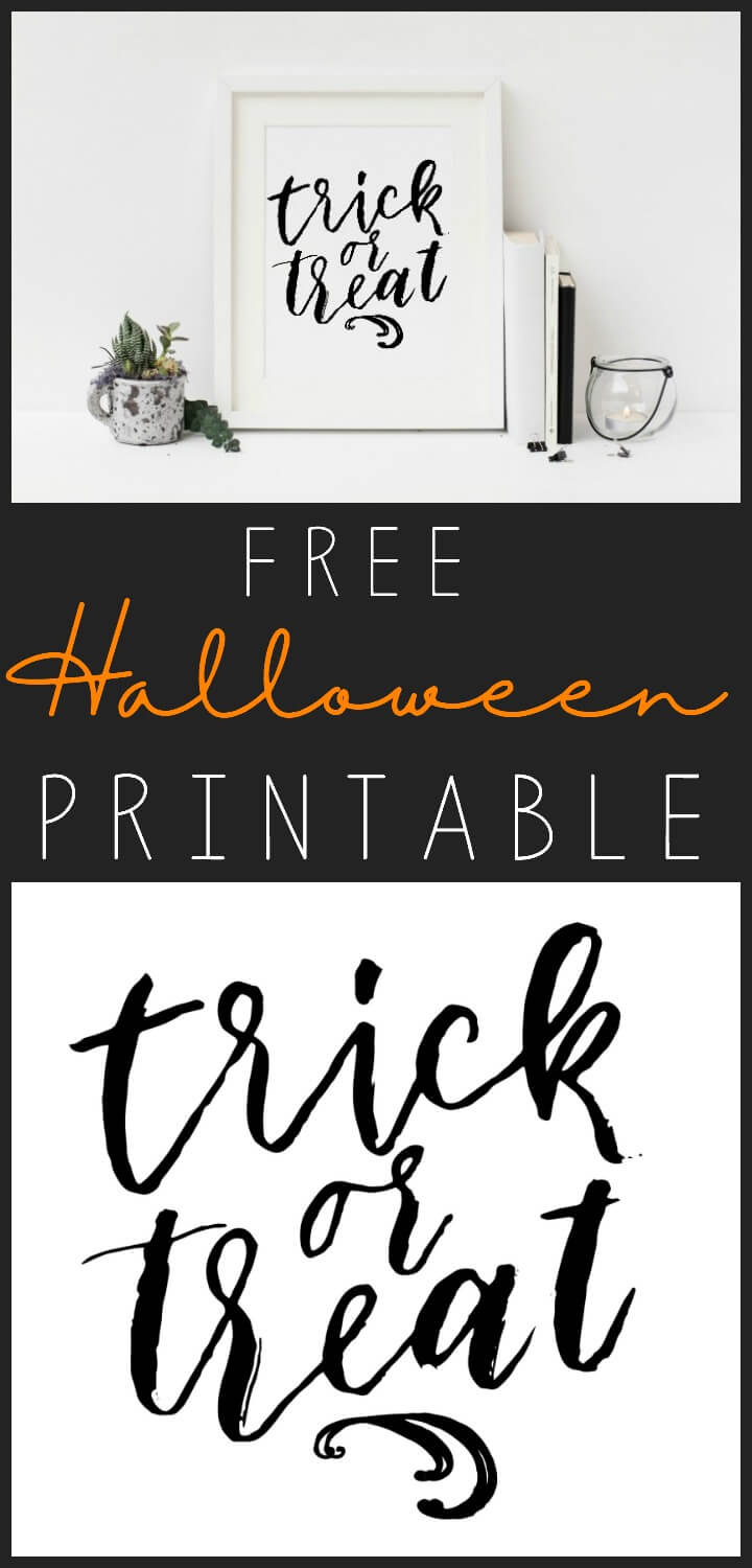 free Halloween printable // northernfeeling.com