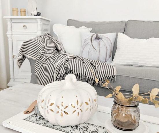 simple & minimal Autumn living room northernfeeling.com