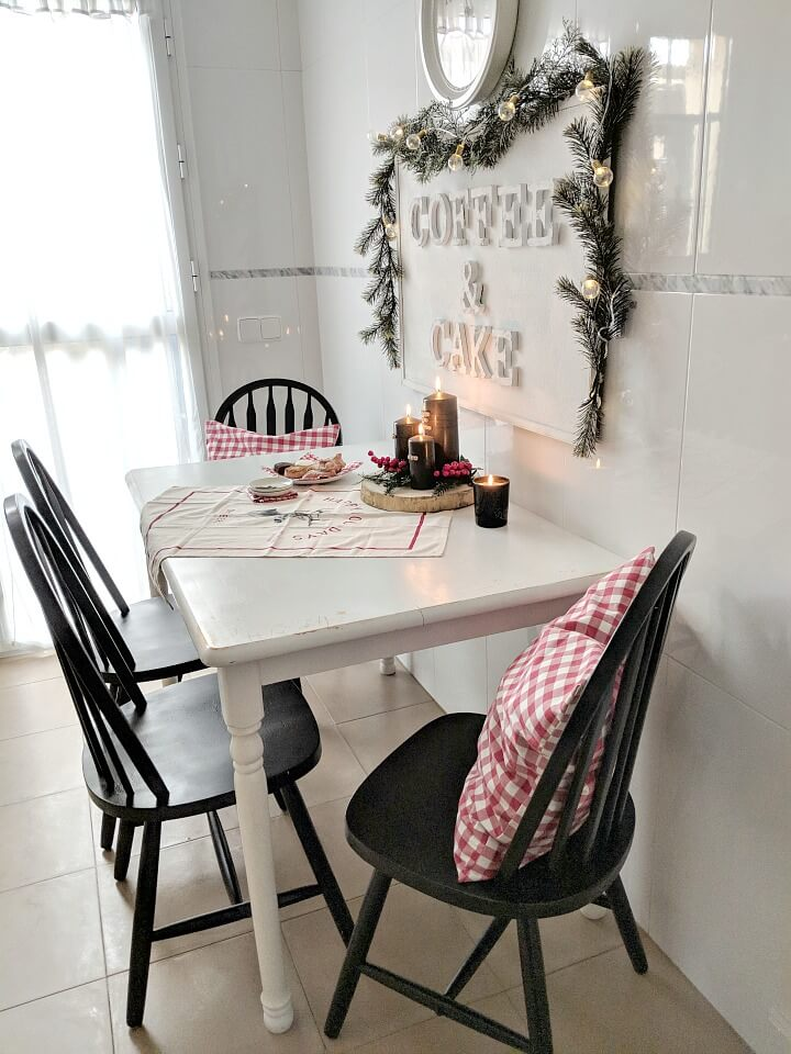cozy nordic holiday kitchen nook northernfeeling.com