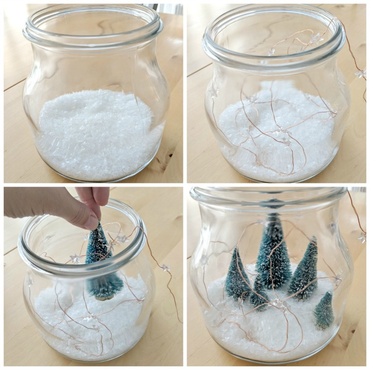 simple holiday village in a jar northernfeeling.com