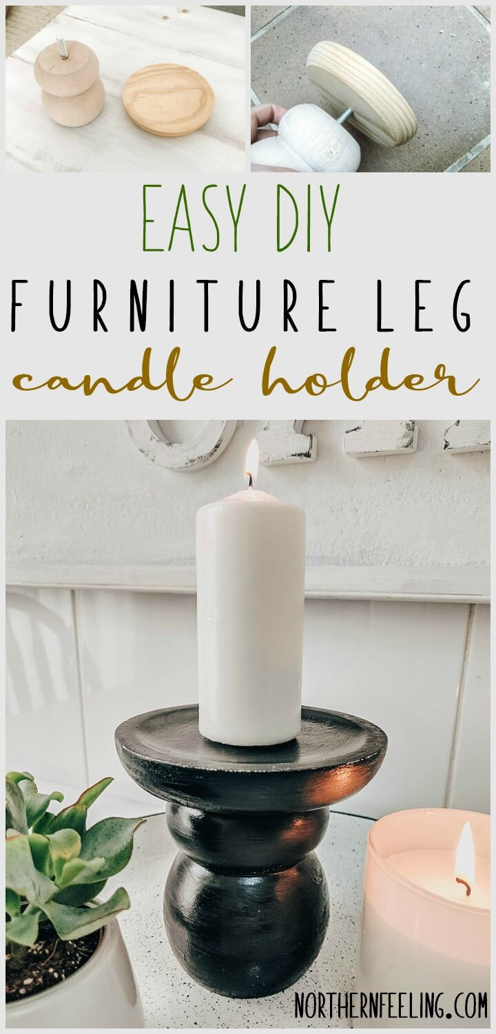 EASY DIY CANDLE HOLDER // NORTHERNFEELING.COM