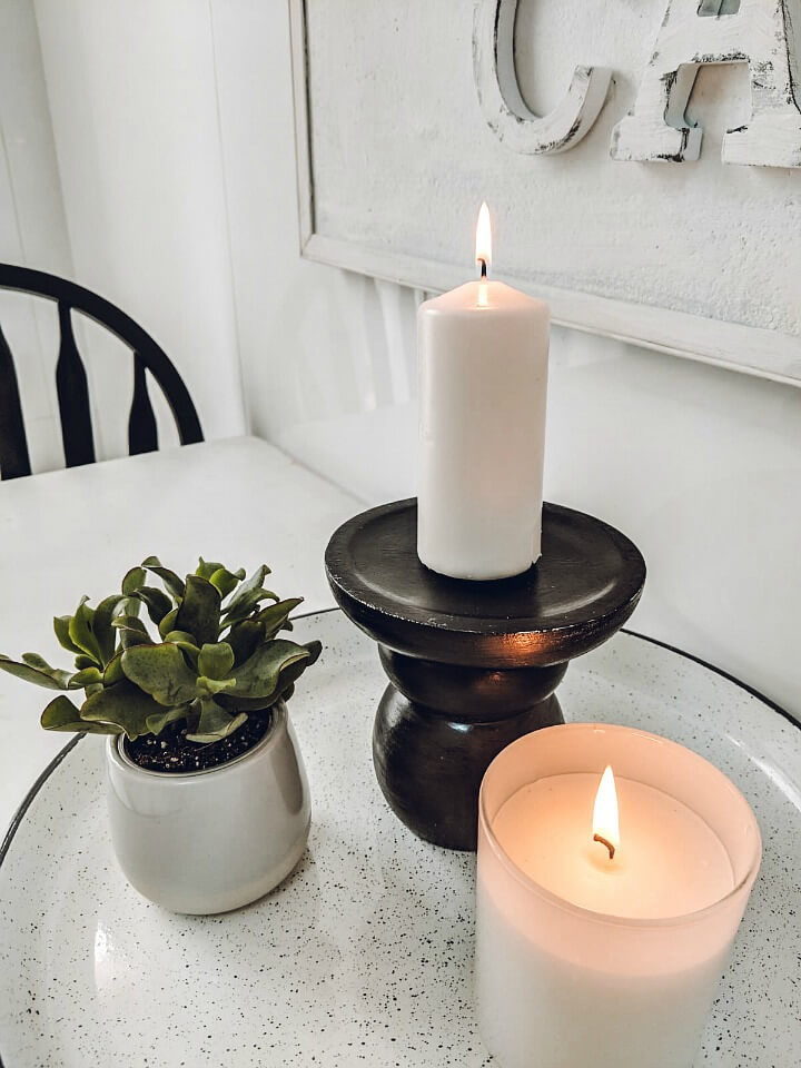 easy DIY candle holder northernfeeling.com