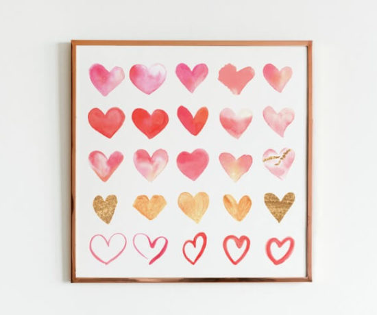 2 Free Valentines Printables northernfeeling.com