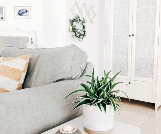 simple Spring living room northernfeeling.com