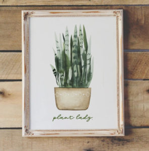 free plant lady printable northernfeeling.com