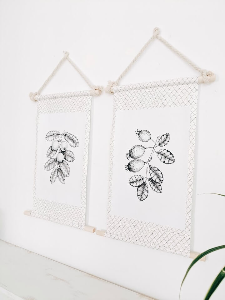 easy diy dowel picture frames northernfeeling.com