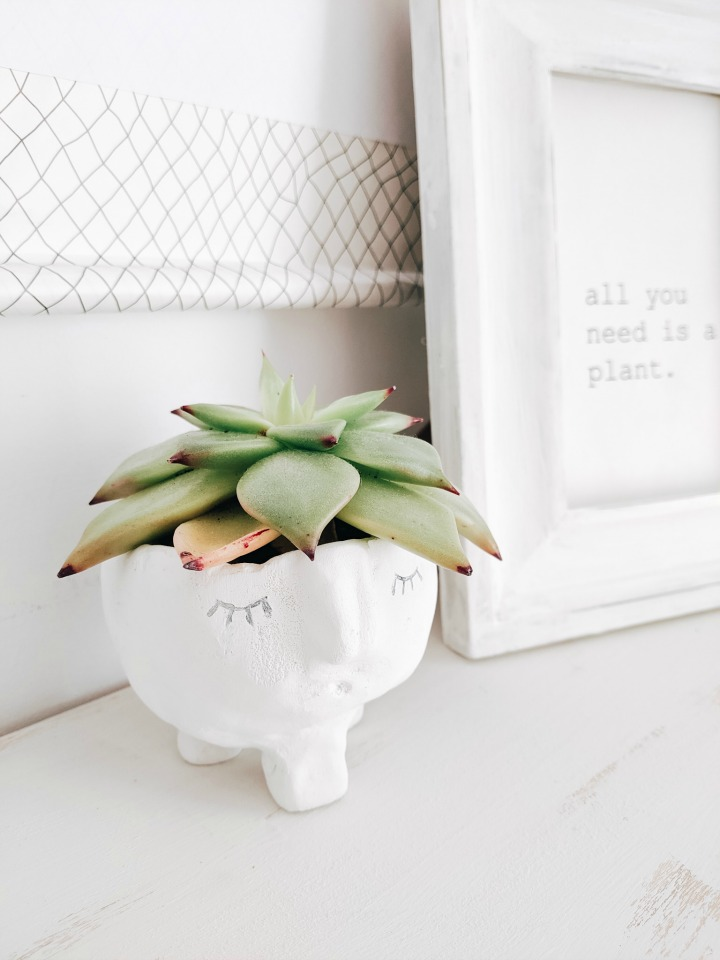 fresh & simple summer mantel northernfeeling.com