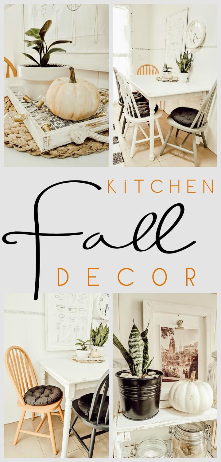 Simple Fall Kitchen Decor // NORTHERNFEELING.COM