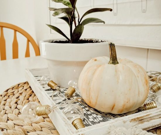 simple Fall kitchen decor northernfeeling.com