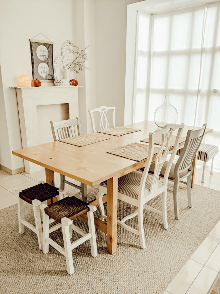 cozy & warm Fall home / dining area / northernfeeling.com (2)
