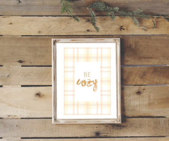 be cozy orange flannel printable northernfeeling.com